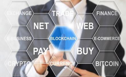 Dash-Kryptowährung-Blockchain