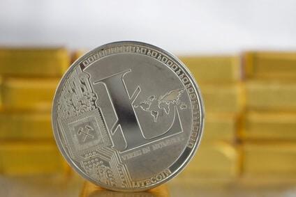 Litecoin-digitale Währung