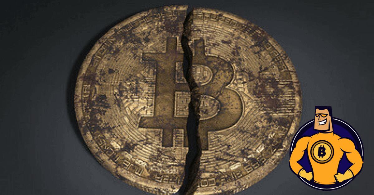 Bitcoin zerstört
