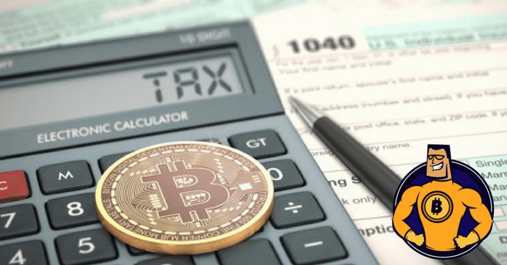 Steuern mit Bitcoin