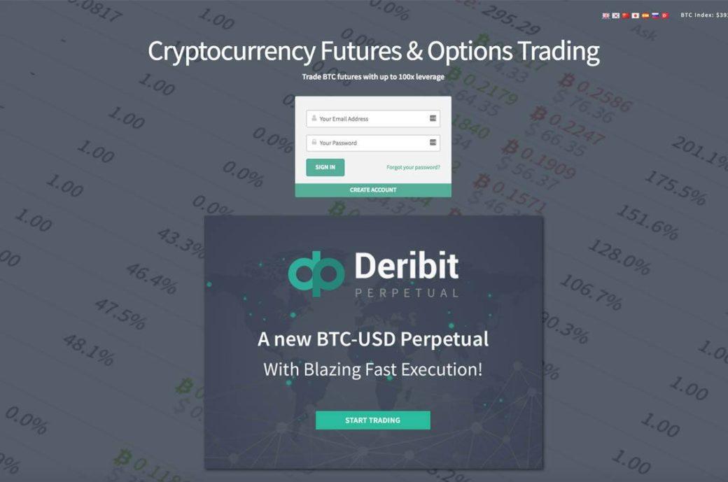 Bitcoin-Trading auf Deribit