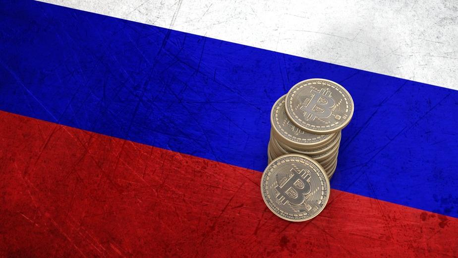 Bitcoin und Putin Russland
