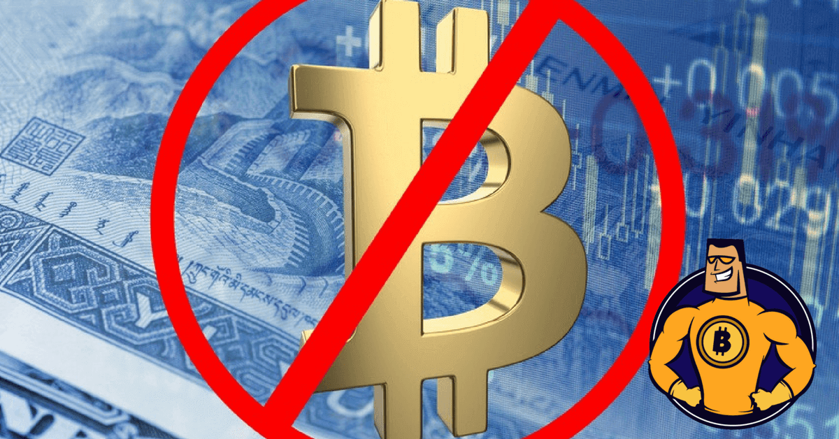 Werbung für Bitcoin