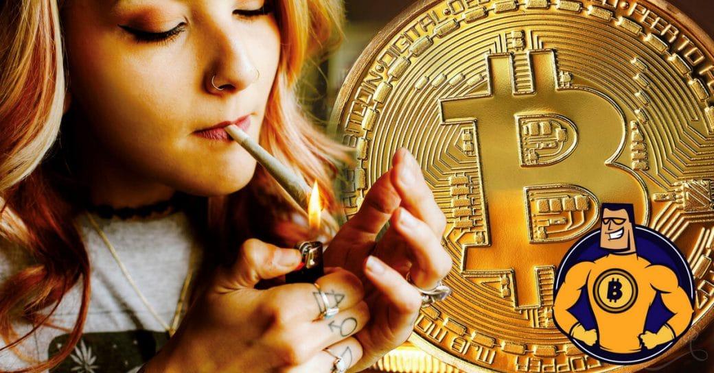 Cannabis und Kryptowährung