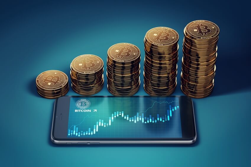 Bitcoin Preis steigt