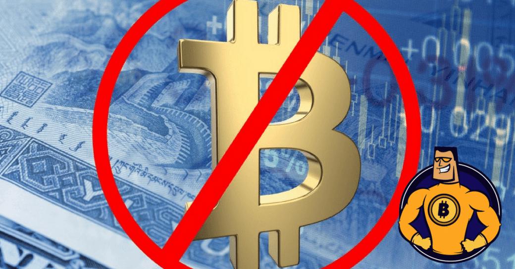 Twitter Bitcoin Verbot